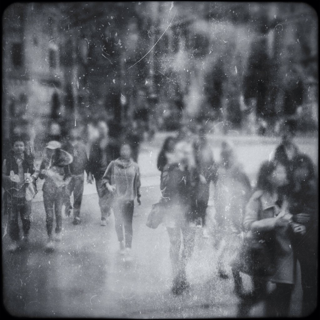 Channeling Atget #36 (Lost Souls In The City) by Michelle Robinson